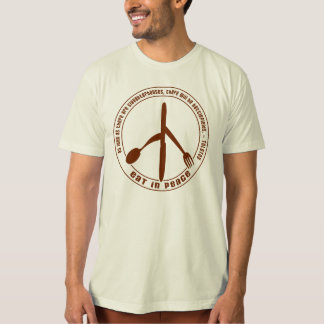 Eat In Peace Vegan T-shirt