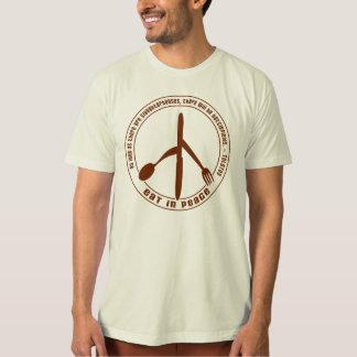 Eat In Peace Vegan T-shirt