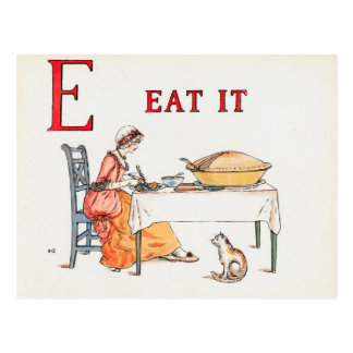 EAT IT POSTCARD