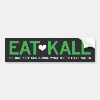 Eat Kale Bumper Sticker