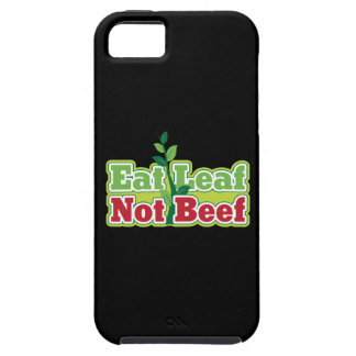 Eat Leaf Not Beef iPhone 5 Cover