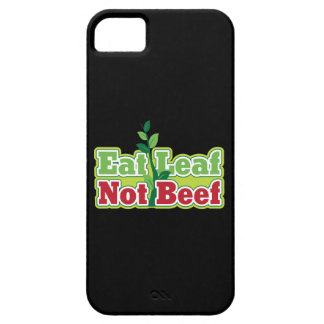 Eat Leaf Not Beef iPhone 5 Cases