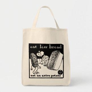 Eat Less Bread Bag