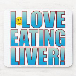 Eat Liver Life B Mouse Mat