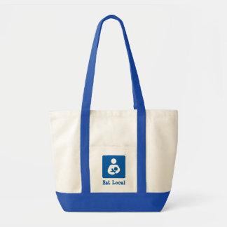 Eat Local Breastfeeding / Nursing Icon Impulse Tote Bag