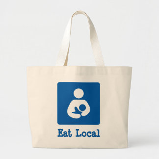 Eat Local Breastfeeding / Nursing Icon Bags