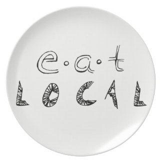 Eat Local Plate
