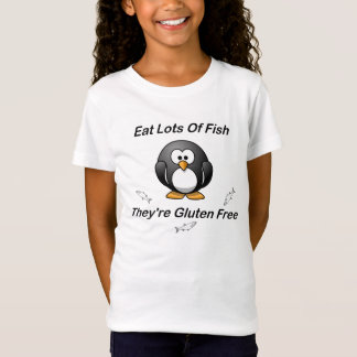 Eat Lots Of Fish, They're Gluten Free T-Shirt