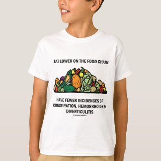 Eat Lower On The Food Chain (Vegetables) T-Shirt