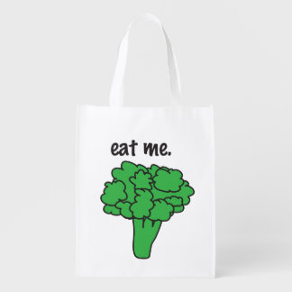eat me. (broccoli)