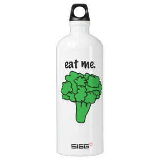 eat me. (broccoli) SIGG traveller 1.0L water bottle