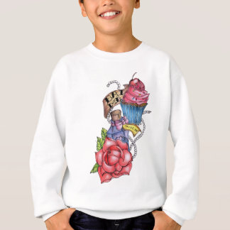 Eat me Drink me Sweatshirt