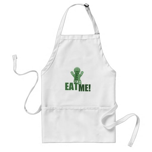 EAT ME! Gingerbread Man - Green Aprons