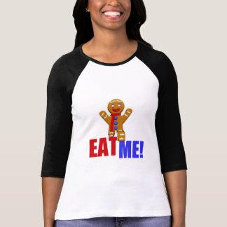 EAT ME! Gingerbread Man - Original Colors T-shirt