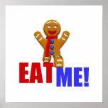 EAT ME! Gingerbread Man - Original Colours