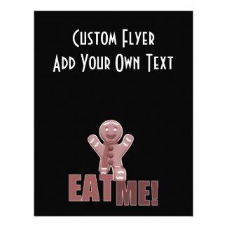 EAT ME! Gingerbread Man - Red Flyer Design