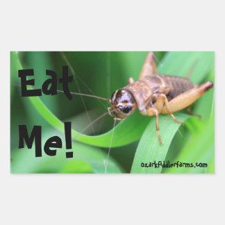 Eat Me! Rectangular Sticker