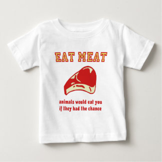 Eat Meat Animals would eat you if they could T Shirt