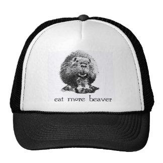 eat more beaver mesh hats