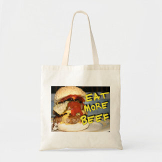 Eat More Beef Budget Tote Bag