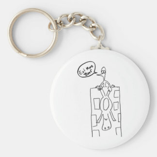 Eat More Beef Building Drop Key Chains
