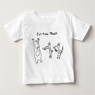 Eat More Beef Hold Up T Shirts