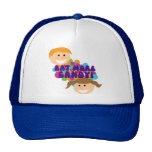 Eat More Candy Retro Kids Mesh Hat