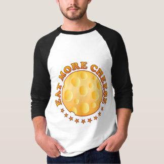 Eat More Cheese Brown Shirt