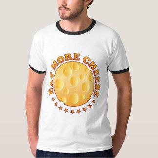 Eat More Cheese Brown Shirts