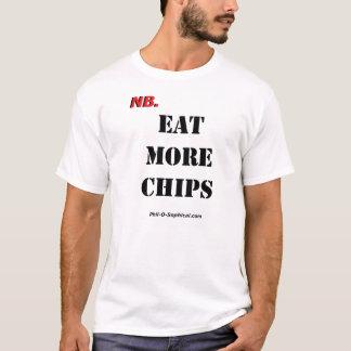 EAT MORE CHIPS (Light) T-Shirt