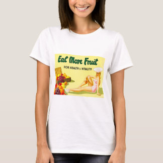 Eat More Fruit for Health & Vitality Vintage T-Shirt
