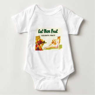 Eat More Fruit for Health & Vitality - Vintage Tshirt
