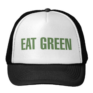 Eat MOre Green Mesh Hat