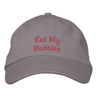 Eat My Bubbles Hat Embroidered Hats
