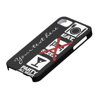 Eat - No Sleep - Party custom iPhone case-mate