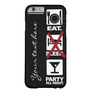 Eat - No Sleep - Party custom phone cases