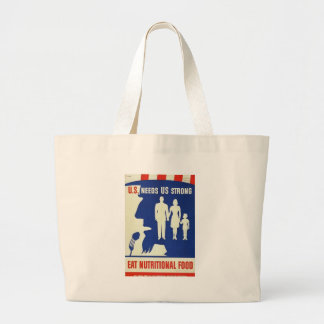 Eat Nutritional Food World War II Bag