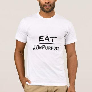 Eat #OnPurpose Men's American Apparel T-Shirt