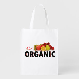Eat Organic Grocery Bag