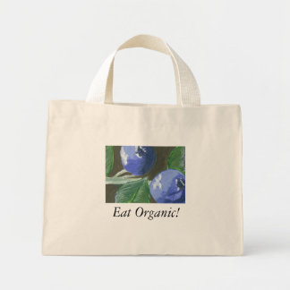Eat Organic! Mini Tote Bag