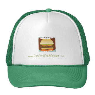 Eat Out For A Change Mesh Trucker Cap