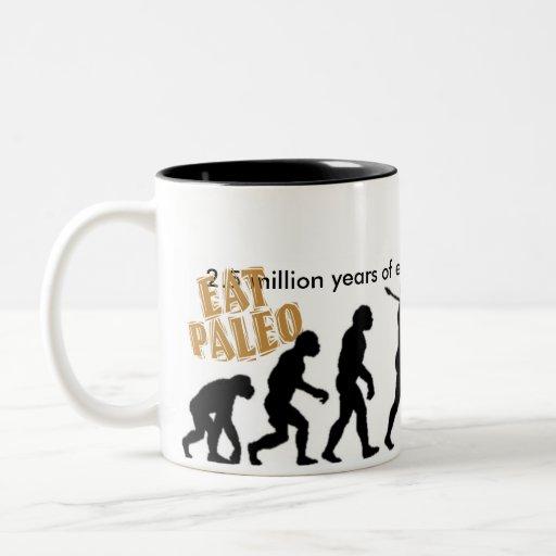 Eat Paleo Two-Tone Mug