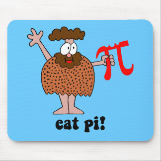 Eat Pi Mouse Pads
