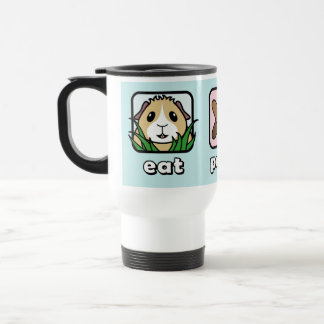 Eat Poop Sleep Guinea Pig Travel Mug