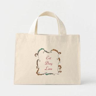 Eat Pray Love Mini Tote Bag