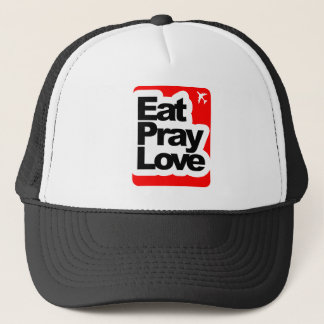 Eat Pray Love Trucker Hat