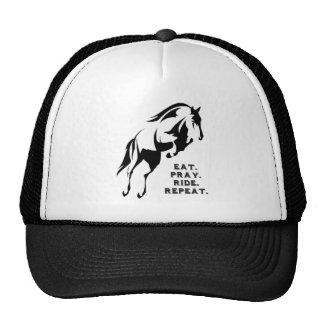 Eat Pray Ride Repeat Hat