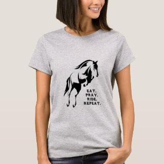 Eat Pray Ride Repeat T-Shirt