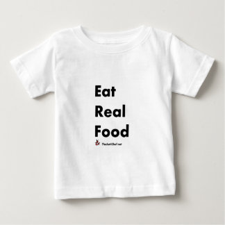 Eat Real Food Tees