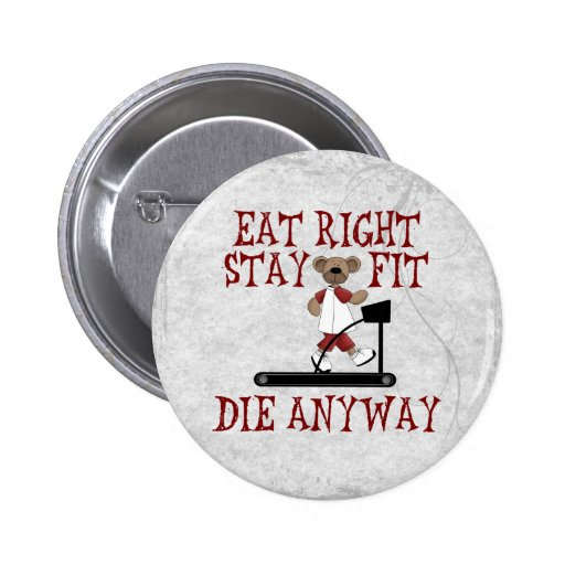 Eat Right - Stay Fit Button